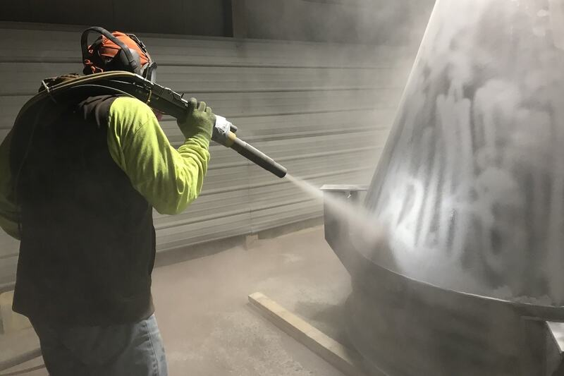 On-site Sandblasting Lansing